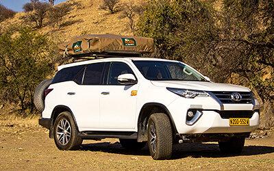 Toyota Fortuner Angola- / Dune Driving