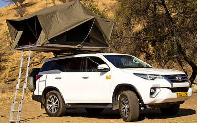 Toyota Fortuner + Camping