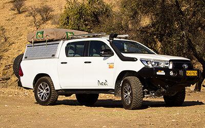 Toyota Hilux Double Cab 2.8L Angola- / Dune Driving