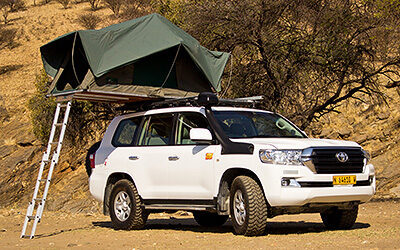 Toyota Land Cruiser HJ 200 + Camping