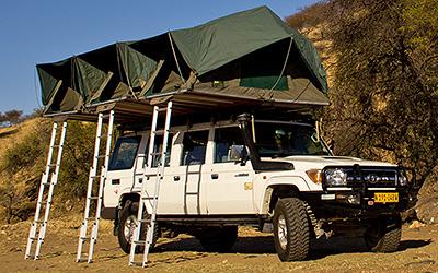 Toyota Land Cruiser HJ 76 + Camping