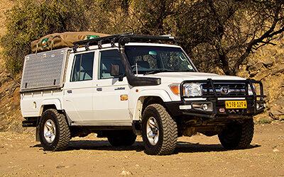 Toyota Land Cruiser HJ 79 Angola- / Dune Driving