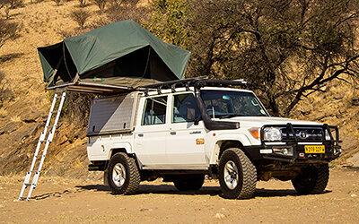 Toyota Land Cruiser HJ 79 + Camping